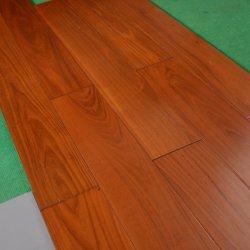 Préfini Indoor solides des revêtements de sol en bois de teck