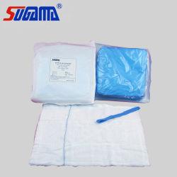 OEM 100% Algodon lavado no quirúrgica desechable de esponjas de vuelta