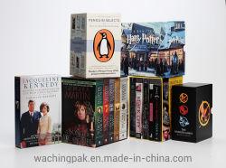 Qualitäts-kundenspezifisches Drucken-Serien-Buch gesetztes Boxset Drucken-Ausgabe-Buch-Drucken