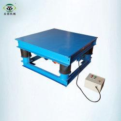 Quadro de intertravamento tornando Pavimentadora de concreto vibrador mesa vibratória