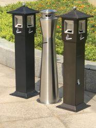 Venta al por mayor elegante cubo de basura colilla de cigarrillo Ash Bin Cenicero de pie (SA-128)