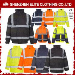 Venda por grosso de mecânico eletricista de fábrica Vestuário Reflectora amarela (ELTHJC-459)