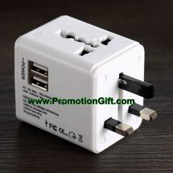 USB универсальная Дорожный адаптер переменного тока
