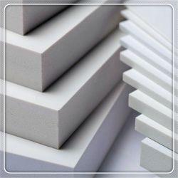 Scheda bianca solida della gomma piuma del PVC dello strato 1.22*2.44m Celuka dei forex del PVC