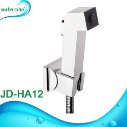 L'ABS blanc Shattaf toilette bidet pulvérisateur définie avec le support de douche