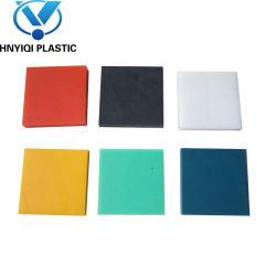 L'ingénierie plastique HDPE Polyéthylène Haute Densité feuille le nom du produit et le général de l'utilisation des matières plastiques en PEHD