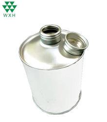 Barattolo di latta vuoto del metallo del contenitore da 1 litro per vernice, olio, prodotto chimico