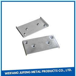 La precisión de OEM de acero inoxidable galvanizado de estampado de la placa de instalación de placa de montaje de niquelado