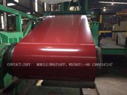 PPGI enduisent la bobine d'une première couche de peinture galvanisée de fer