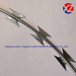 電子電流を通されたかみそりとげがあるテープワイヤー(CBTO-22)