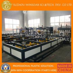 자동적인 PVC PP PE 두 배 오븐은 플라스틱 R Type/Z 유형 또는 장방형 Socketing Belling 기계를 배관한다