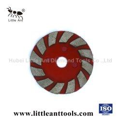 عجلة تجليخ من مادة الفيلكرو من الخرسانة الصلبة 100 مم / الجرانيت/الرخام
