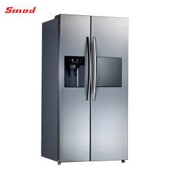 Side-by-side doppelte Tür-Kühlraum kein Frost-Kühlraum mit Eis-Hersteller