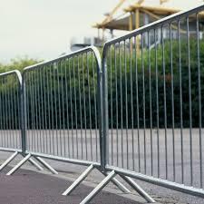 교통 도로 보행자 장벽 극복 펜스 크라우드 컨트롤 장벽