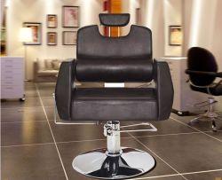 Chaise en cuir moderne salon de coiffure, Président de coupe de cheveux, un salon de beauté Président (FEC389)