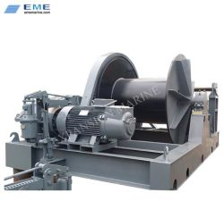 Cale de halage électrique 50tonne pour expédier le lancement du système de treuil