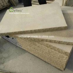 Escaliers en grès jaune/étapes/Paving/Walling/Flooring/Caps/l'aménagement paysager/jardinage/brames ou des tuiles