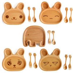 جيّدة رسم متحرّك صندوق خشبيّة خشبيّة وجبة خفيفة لوحة لأنّ جديات & مطبخ
