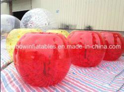 Heiße Verkaufs-aufblasbare Karosserien-Stoßkugel Zorbing Luftblasen-Kugel
