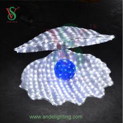 LED 3D de la lumière avec Shell Pearl lumière pour la décoration
