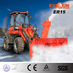 Mini Wheel Loader Er15 Snow Blower con EPA/CE Engine da vendere