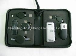 Fournisseur d'experts de l'outil 6 en 1 USB Kit, kit de voyage USB
