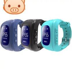 Q50 téléphone intelligent pour les enfants de regarder avec le positionnement GPS