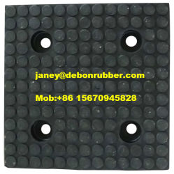 製造業者のシュートのための陶磁器のゴム製合成の摩耗はさみ金