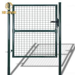 El panel de metal forjado decorativo jardín puerta Puerta valla de malla