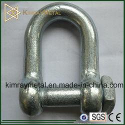 Le chalutage de l'anse de la chaîne en acier galvanisé