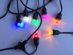 E14 de la Papaye Ampoule Lumière de la courroie d'un patio de lumière à LED