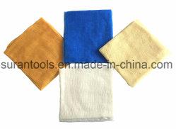 Blaues/orange/hellgelbes/weißes Heftzwecke-Tuch für Auto-Lack