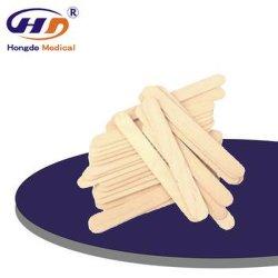 HD1014 Depressor da lingueta com marcação ISO13485 Madeira Aprovar