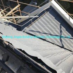 Bond Stone-Coated panneau du toit de tuiles enfoncé couche protectrice de haute qualité disponible dans une large sélection de couleurs