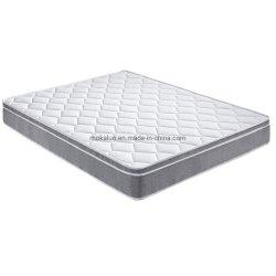 Gecomprimeerde schuimmatras met hoge dichtheid met dubbele stoffen bekleding en Wave Foam Euro Top Box matras