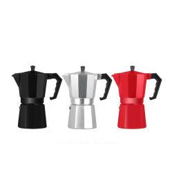 Groothandel Stovetop Aluminium 3/6 /9/12 kopjes Italiaanse espressomachine Moka-pot