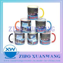 11oz forma popular de impresión por sublimación de Taza de Café Taza de cerámica