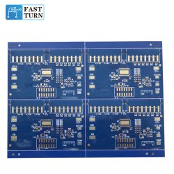 1 Layer Alumínio com máscara de Solda Azul placa PCB