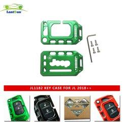 Из алюминиевого сплава ключ автомобиля крышка для Jeep Wrangler Jl 2018+