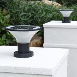 مصباح السقف العلوي من الجدار العازل بالقائم بالقائم بالطاقة الشمسية LED مقاومة للماء في الهواء الطلق