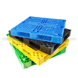 Kunststoff-Palette Herstellung Fabrik direkt Verkauf ISO HDPE groß stapelbar Reversible Heavy Duty Warehouse Kunststoff-Palette zum Verkauf mit wettbewerbsfähigen Preis