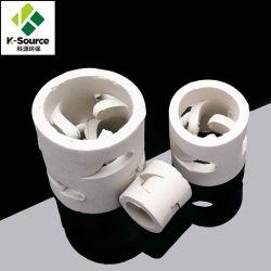 Keramische willekeurige verpakking keramische pallen-ring Vervaardiging