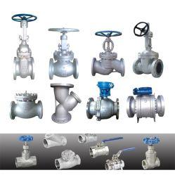 ANSI API 150lb fundición de acero al carbono Brida de acero inoxidable Wcb/válvula de compuerta/NEUMÁTICO Válvula de control eléctrico de presión del actuador de válvula con una buena