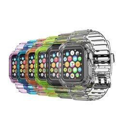 La moda de verano colorido las correas de reloj un reloj inteligente Pple Reloj inteligente de la correa de accesorios