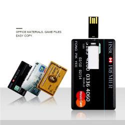신용 카드 작풍 USB 섬광 드라이브 카드 128 MB USB 명함