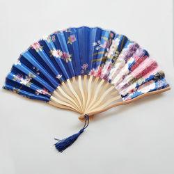 [Yo Soy Tu Fans]Impreso personalizado Diseño de Flor abanicos plegables para regalo de bodas y eventos de fiesta