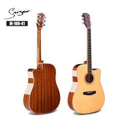 Горячий иностранных музыкальный инструмент акустической гитаре с электроприводом в разрезе