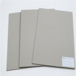 1mm graue graue Papierpappspanplatte für Notizbuch-Deckel