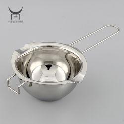 Manteiga de leite e café pote mais quentes de chocolate em aço inoxidável Melting Pot Caldeirão de cera ferramentas de queijo