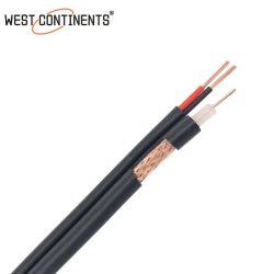 Rg59+2c الطاقة متحد المحور بالجملة Rg59 فيديو الطاقة كابل أفضل سعر كبل CCTV